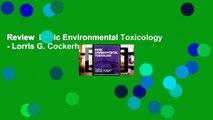 Review  Basic Environmental Toxicology - Lorris G. Cockerham