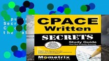 Popular Cpace Written Secrets Study Guide: Cpace Test Review for the California Preliminary
