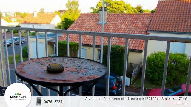 A vendre - Appartement - Landouge (87100) - 3 pièces - 72m²