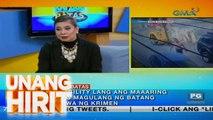 Unang Hirit: Kapuso sa Batas: Mga batang nakasunog ng dalawang pedicab sa Makati, may pananagutan ba?
