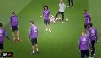 Chat drole - Ronaldo obtient nutmegged par danilo - devient fou