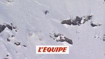 le run de Xavier De Le Rue à Verbier en 2010 - Adrénaline - Freeride World Tour