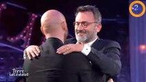 Le câlin de la réconciliation entre Franck Gastambide et Frédéric Lopez !