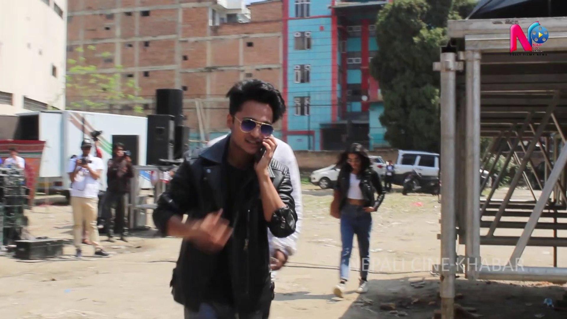 Harihar Adhikari and all Neplai Celebrate play Holi | Nepali festival Holi 2019