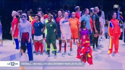 a49c8eb90dd VIDÉO - Coupe du Monde féminine 2019   découvrez les maillots des Bleues