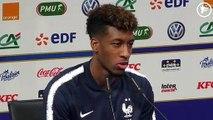 "Kingsley Coman et son ""grand-frère"" Franck Ribéry"