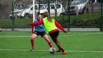 D1 Féminine : L'entraînement de ce matin en vidéo avec un clin d'oeil spécial pour les joueuses de Futsal