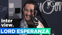 """LORD ESPERANZA : """"La Sexion d'Assaut et Gims m'ont donné envie de rapper"""""""