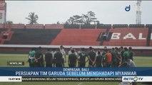Persiapan Timnas Indonesia Senior Hadapi Myanmar