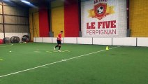 MATTÉO BUHLMANN  - ASPTG ÉLITE FOOTBALL - FIVE PERPIGNAN - 20.03.2016 - V2