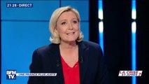 """Marine Le Pen: """"Il faut rompre avec le libre-échange"""""""