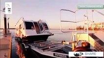 Quoi de mieux qu'une caravane flottante pour les vacances...