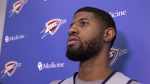 Paul George Gives High Praise to Nick Collison