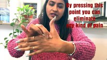 one magical point can heal all your spine pain  acupressure point for all spine pain