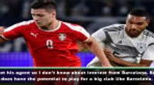 Jovic has ability to play for Barcelona - Serbia manager