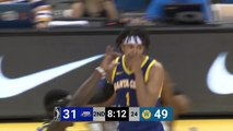 Antonius Cleveland goes up to get it and finishes the oop