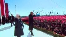 Cumhur İttifakı'nın 'Büyük İstanbul Mitingi' Cumhurbaşkanı Erdoğan'ın gelişi - İSTANBUL