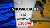 Mathiers et Kummer vainqueurs en slalom parallèle - Snowboard - CM - Winterberg
