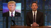 Seth Meyers Shares Hilarious Montage Of Trump Insisting He Is 'Not' A Baby