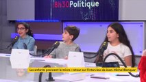 """""""Quand il ne voulait pas répondre on le forçait quand même"""" : quand les enfants posent leurs questions à Jean-Michel Blanquer"""