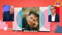 C'est au programme : découvrez Sébastien Cauet plus jeune... avec des cheveux !