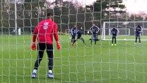 A l'entraînement, Areola en forme avec les Bleus !