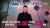 Karl Lagerfeld mort : Baptiste Giabiconi rend un nouvel hommage au styliste