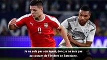 "Transferts - Krstajic (Serbie) : ""Jovic a le potentiel pour jouer au Barça"""
