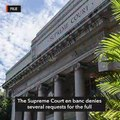 Supreme Court denies requests for justices' full SALNs
