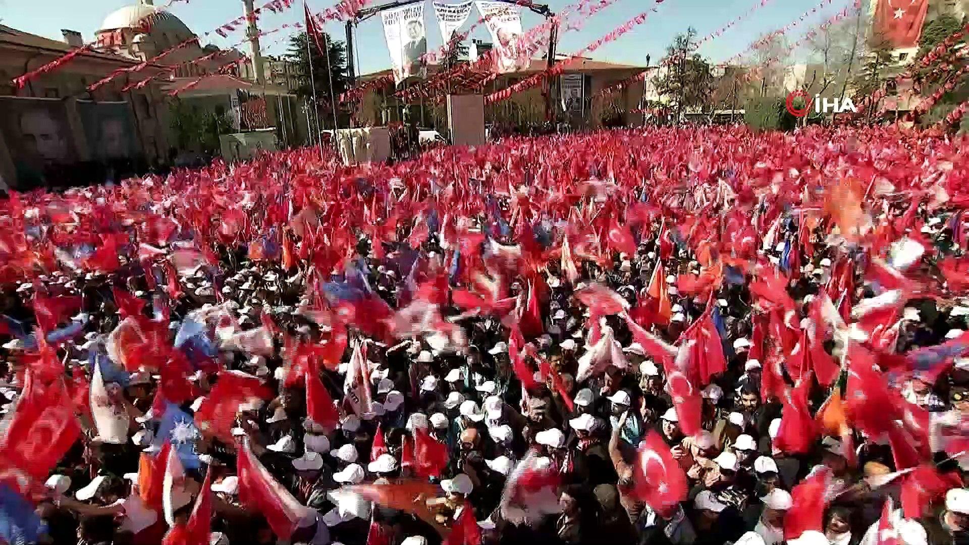 Cumhurbaşkanı Erdoğan: 'Ülkemize şaşı olarak bakan kim varsa seçimleri bekliyorlar'