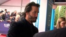 Celebrity Closeup: Keanu Reeves