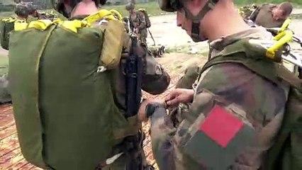2ème Régiment Étranger de Parachutistes  - Exercice CUMMATIMENTU
