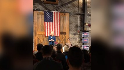 Kirsten Gillibrand Claims Trump Is 'Afraid' And 'Not Brave' During Town Hall Speech In Iowa