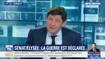 """Le sénateur Patrick Kanner juge """"inacceptable"""" le boycott d'Edouard Philippe des questions au gouvernement du Sénat"""