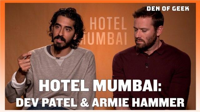 Hotel Mumbai: Dev Patel and Armie Hammer Interview