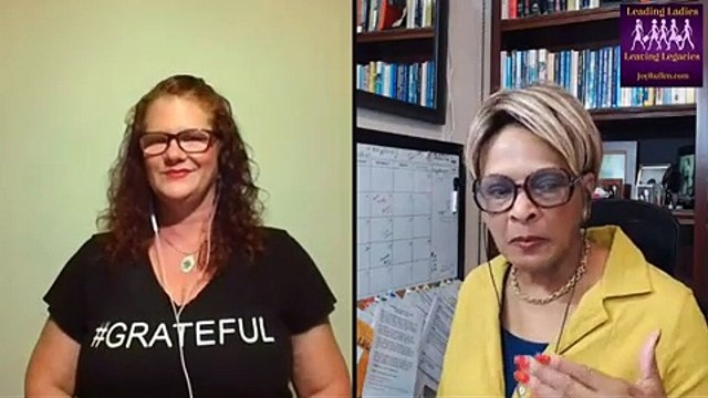 LEADING LADIES LEAVING LEGACIES-HOW GOING FROM GRUMPY TO GRATEFUL CAN HELP YOU SUCCEED