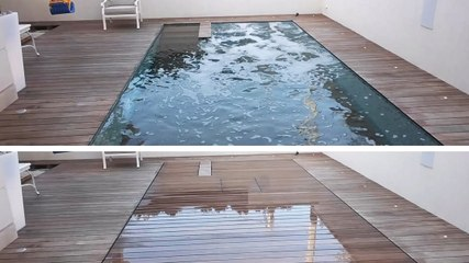 Disappearing Pool Save On Space In Your Backyard