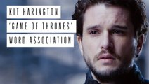 Kit Harington 'Game of Thrones' Word Association