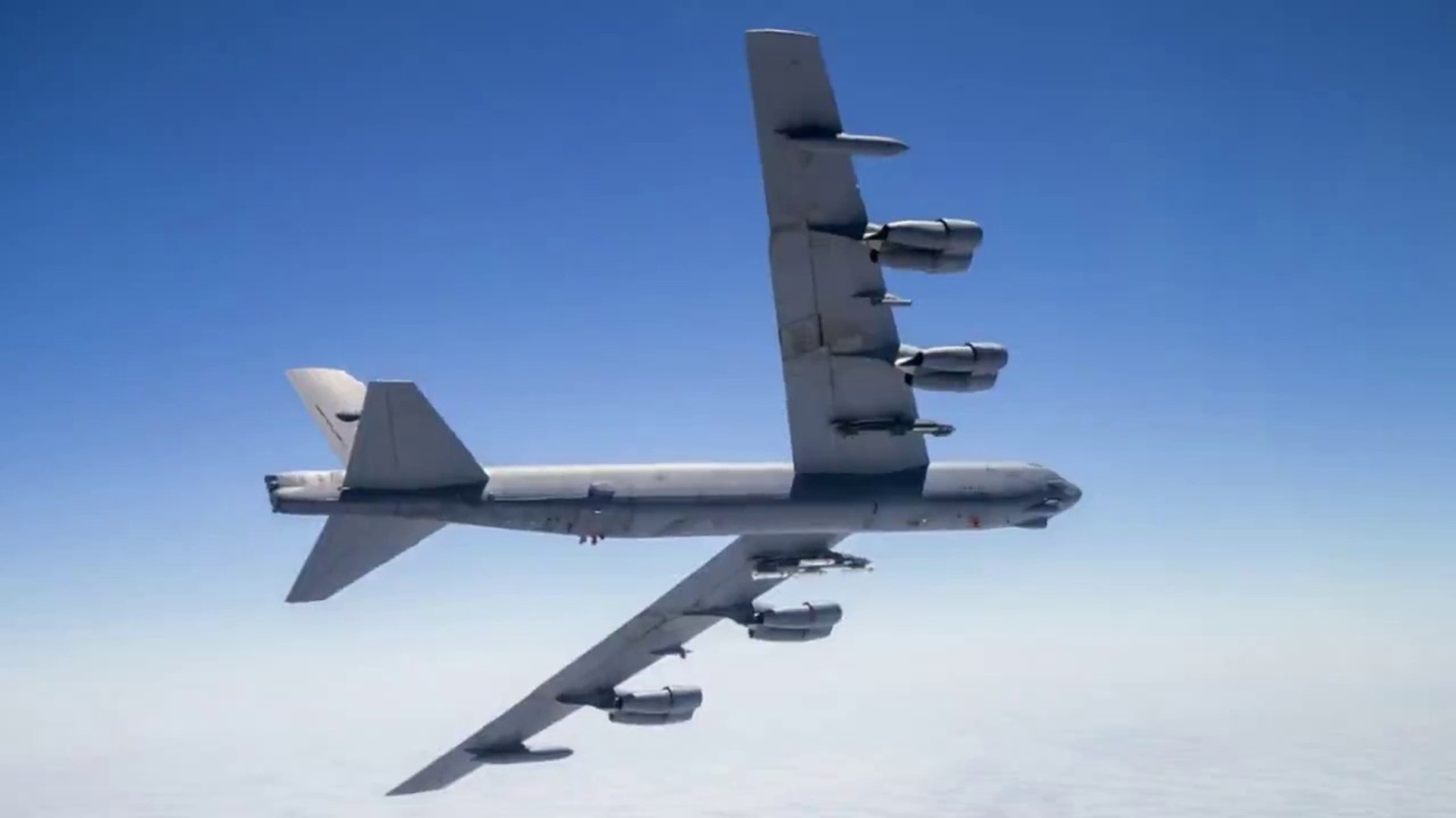 WAR-IN THE SKY: Su-27 Fighter Jets Shadow U.S. NUCLEAR-CAPABLE B-52H Bomber Near Russian Border