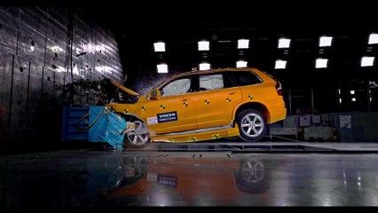 Volvo XC90 Frontal Offset Crash