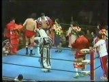 Ric Flair/Kim Duk vs Giant Baba/Jumbo Tsuruta (All Japan April 22nd, 1978)
