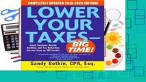 R.E.A.D Lower Your Taxes - Big Time! 2019-2020: Small Business Wealth Building and Tax Reduction
