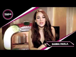 Danna Paola manda saludos a los lectores de la Revista Nueva