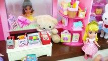 Disney mini Pincess poupée Rue Commerçante de Café de Fantaisie Boutique الأميرة دمية لعبة Brinquedo boneca Princesa