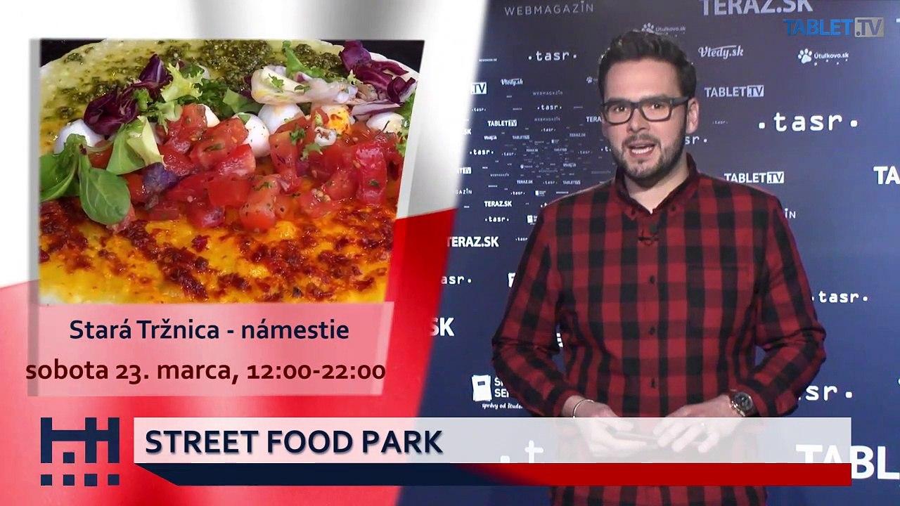 POĎ VON: Street Food Park a Blší trh v Starej tržnici