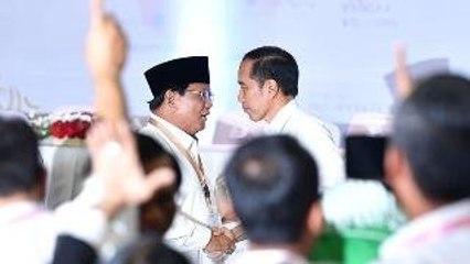 Jokowi Turun Prabowo Naik