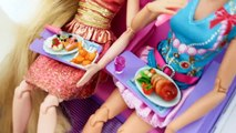 Nouvelle Barbie AVION! Barbie Raiponce Avion de voyage de Routine باربي طائرة جديدة Barbie Novo avião