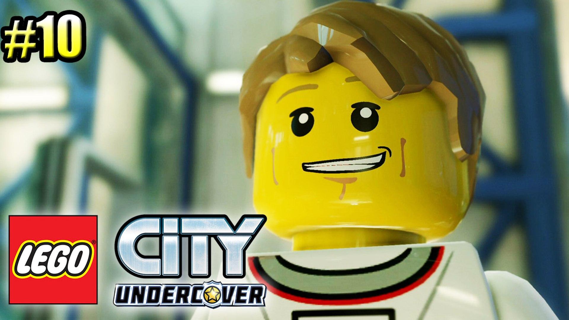LEGO City Undercover прохождение часть 10 — Учимся Водить Луноход {PS4}