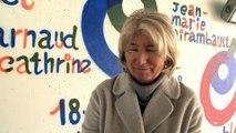 Vannes : Des tags antisémites visant Christine Angot inscrits au Palais des arts