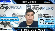 Miami Heat vs. Milwaukee Bucks 3/22/2019 Picks Predictions